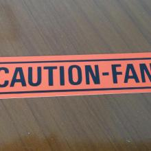 Caution-Fan matrica 67/79 Ford,Mercury
