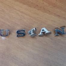 """MU""""S""""T""""A""""N""""G"""" embléma betűk"""