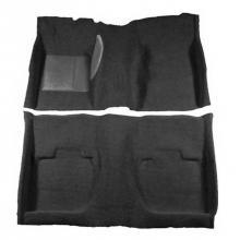 Padlókárpit fekete 65/68 Fastback