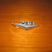 Mustang 289 Sárvédő embléma