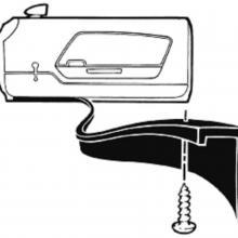 Ajtó gumi tömítés alsó szakasz69/70