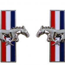 Sárvédő embléma futó ló Pár